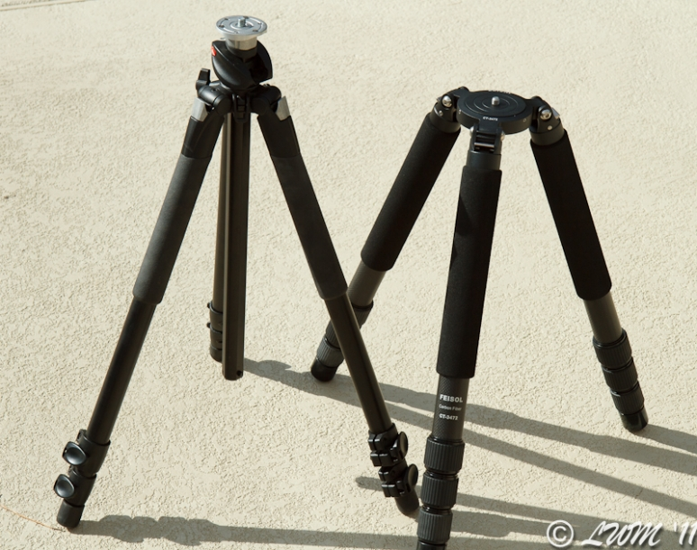 Feisol CT-3472 Legs vs Manfrotto 055XPROB Legs