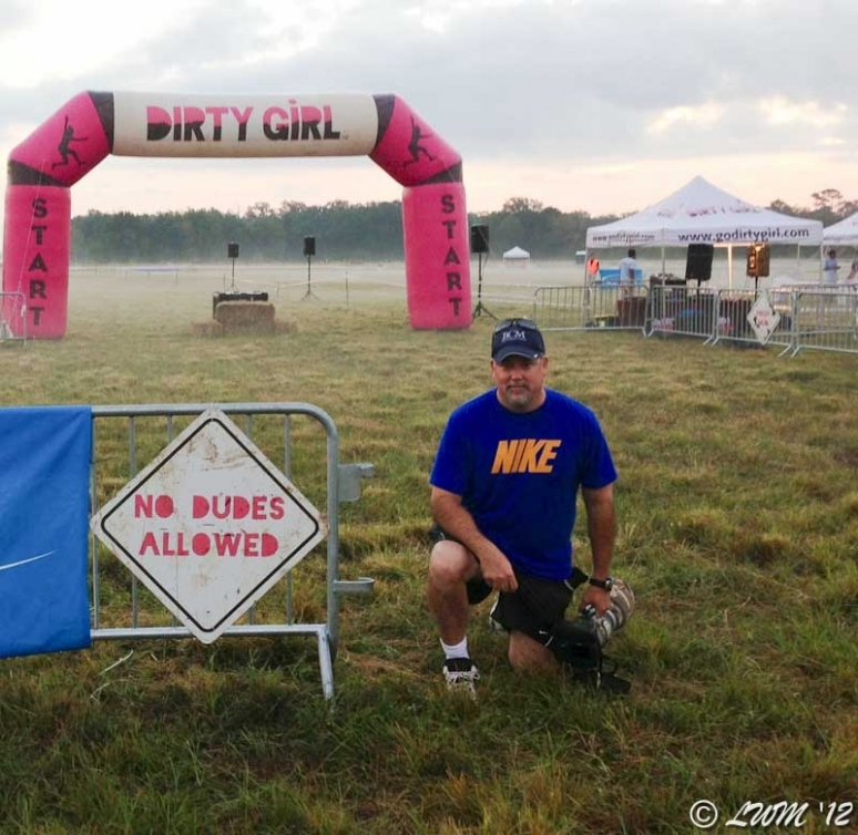 Feeling The Love At The DirtyGirl Mud Run And Obstacle Course